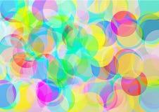 χρώμα φυσαλίδων ανασκόπησης Στοκ Εικόνες
