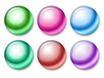 χρώμα χαντρών Διανυσματική απεικόνιση