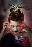χρώμα χαρακτήρα Στοκ φωτογραφία με δικαίωμα ελεύθερης χρήσης