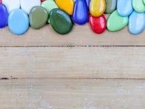 Χρώμα χαλικιών Στοκ Φωτογραφίες