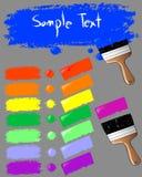 χρώμα 2 διανυσματική απεικόνιση