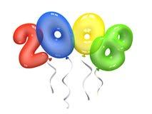 χρώμα 2008 μπαλονιών αέρα Στοκ Εικόνες