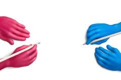χρώμα 4 συμφωνίας Στοκ εικόνα με δικαίωμα ελεύθερης χρήσης