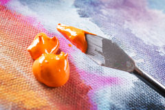 Χρώμα acrylics Aristic στοκ φωτογραφίες