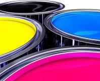 Χρώμα CMYK Στοκ φωτογραφία με δικαίωμα ελεύθερης χρήσης