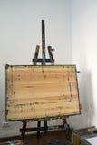 Χρώμα Easel Στοκ φωτογραφία με δικαίωμα ελεύθερης χρήσης