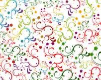 χρώμα floral Στοκ Εικόνες
