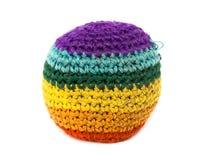 χρώμα footbag Στοκ Εικόνα