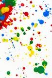 χρώμα splatter Στοκ Εικόνα