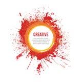 Χρώμα Splatter ελεύθερη απεικόνιση δικαιώματος