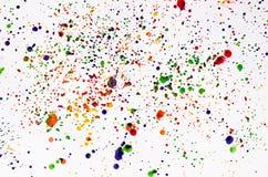 Χρώμα splatter Στοκ Εικόνες