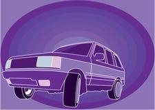 Χρώμα SUV απεικόνιση αποθεμάτων