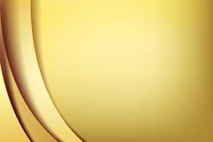 Χρώμιο κίτρινο και χρυσός overlape και υπόβαθρο στοιχείων σκιών te ελεύθερη απεικόνιση δικαιώματος