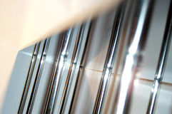 χρώμιο ράβδων στοκ φωτογραφία με δικαίωμα ελεύθερης χρήσης
