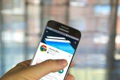 Χρώμιο dev app Google Στοκ εικόνες με δικαίωμα ελεύθερης χρήσης