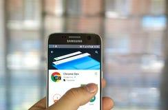 Χρώμιο dev app Google Στοκ Εικόνες
