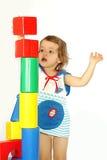 χτίζει το σπίτι κοριτσιών &lambd στοκ φωτογραφία