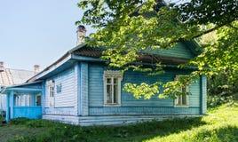 Χτίζοντας αγροτικά νοσοκομεία Στοκ φωτογραφία με δικαίωμα ελεύθερης χρήσης