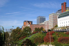χτίζοντας Αμβούργο Στοκ φωτογραφία με δικαίωμα ελεύθερης χρήσης