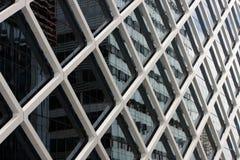 χτίζοντας βαλμένο σε στρώσεις εξωτερικό γραφείο Στοκ Φωτογραφία