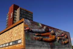 χτίζοντας βασικό unam Στοκ εικόνα με δικαίωμα ελεύθερης χρήσης