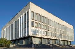 χτίζοντας βιβλιοθήκη Στοκ Εικόνες