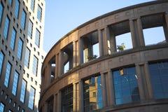 χτίζοντας βιβλιοθήκη Στοκ Φωτογραφία