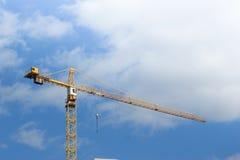 Χτίζοντας γερανός Στοκ εικόνα με δικαίωμα ελεύθερης χρήσης