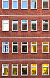 χτίζοντας γραφείο νύχτας π Στοκ φωτογραφίες με δικαίωμα ελεύθερης χρήσης