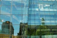 χτίζοντας γυαλί Στοκ Εικόνα