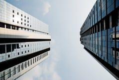χτίζοντας εξωτερικό γυα&l Στοκ φωτογραφία με δικαίωμα ελεύθερης χρήσης