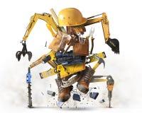 Χτίζοντας εργαλεία και εξοπλισμός απεικόνιση αποθεμάτων