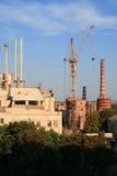χτίζοντας εργοστάσιο Στοκ φωτογραφία με δικαίωμα ελεύθερης χρήσης