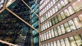 χτίζοντας εσωτερικό σύγχρονο γραφείο Στοκ εικόνα με δικαίωμα ελεύθερης χρήσης