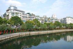 χτίζοντας κάτοικος πόλης της Κίνας Στοκ Εικόνα