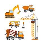 Χτίζοντας κάτω από την κατασκευή, τους εργαζομένους και την τεχνική διανυσματική απεικόνιση κατασκευής ελεύθερη απεικόνιση δικαιώματος