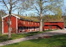 χτίζοντας κεντρικός αγωγός Στοκ Εικόνες
