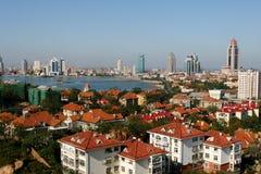 χτίζοντας κινεζική πόλη Στοκ εικόνες με δικαίωμα ελεύθερης χρήσης