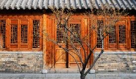 χτίζοντας κινεζικό ύφος Στοκ φωτογραφία με δικαίωμα ελεύθερης χρήσης