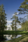 χτίζοντας κλασσική κατακόρυφος τοπίου Στοκ φωτογραφία με δικαίωμα ελεύθερης χρήσης