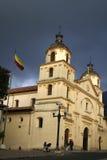 χτίζοντας Κολομβιανός στοκ εικόνα