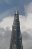 χτίζοντας κορυφή του Λονδίνου shard Στοκ Εικόνες