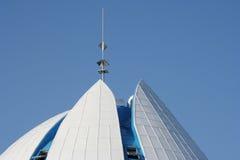 χτίζοντας κορυφή Στοκ Εικόνα