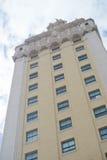 χτίζοντας κουβανικός πύργος του Μαϊάμι inmigration ελευθερίας ιστορικός Στοκ Φωτογραφία