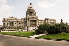 χτίζοντας κράτος του Idaho capitol Στοκ εικόνες με δικαίωμα ελεύθερης χρήσης