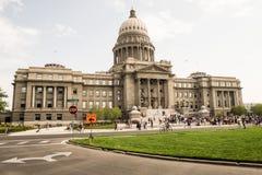 χτίζοντας κράτος του Idaho capitol Στοκ φωτογραφία με δικαίωμα ελεύθερης χρήσης