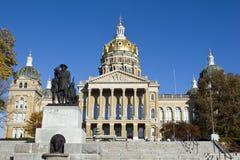 χτίζοντας κράτος του Iowa capitol Στοκ φωτογραφία με δικαίωμα ελεύθερης χρήσης
