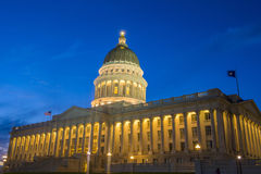 χτίζοντας κράτος Utah capitol Στοκ φωτογραφία με δικαίωμα ελεύθερης χρήσης