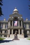 χτίζοντας κράτος Wyoming capitol Στοκ Εικόνες