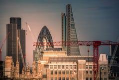 Χτίζοντας Λονδίνο Στοκ Εικόνες